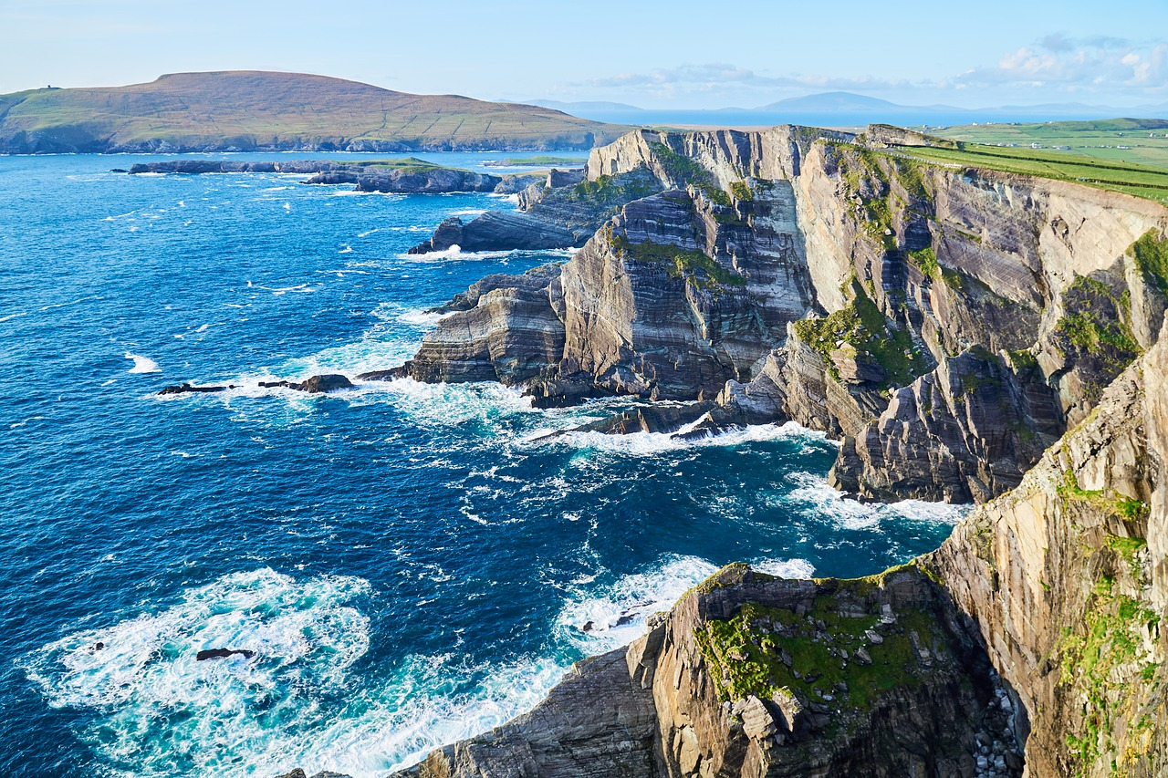 Steilküste im Südwesten in der Provinz Munster