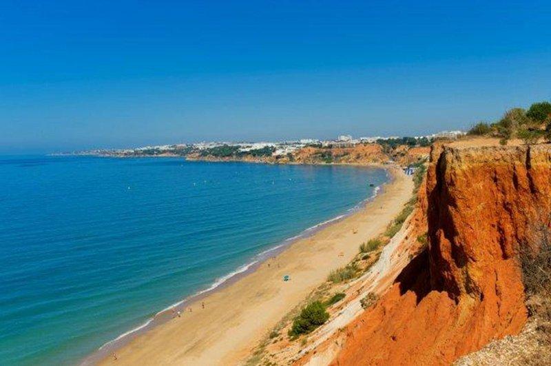 Strand am Hotel - Praia de Falesia