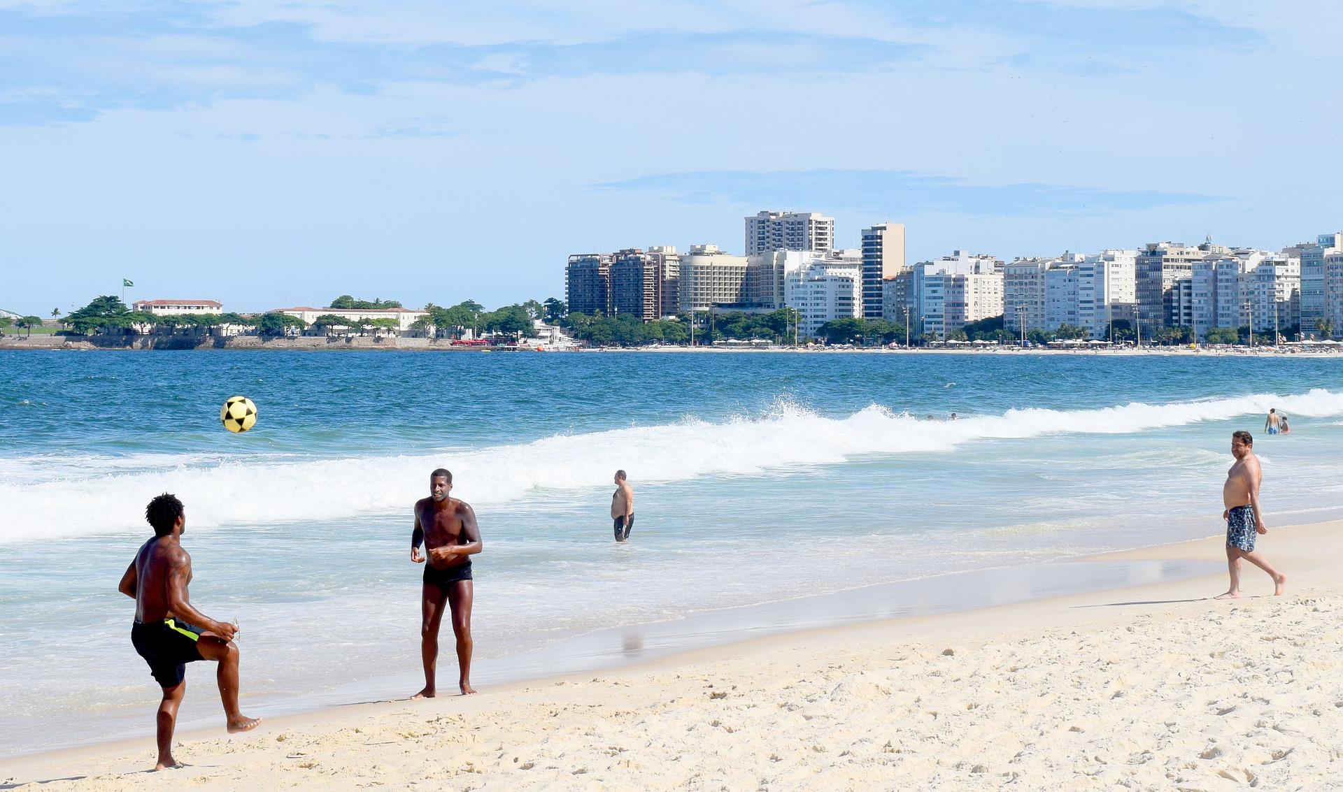 Strand der Copacabana
