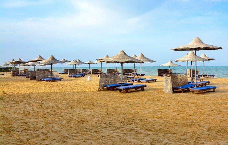 Strandabschnitt vom Hotel die liegen sind inklusive