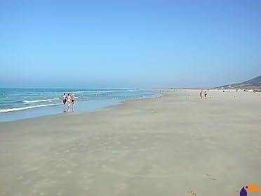 Strandabschnitt vom Hotel