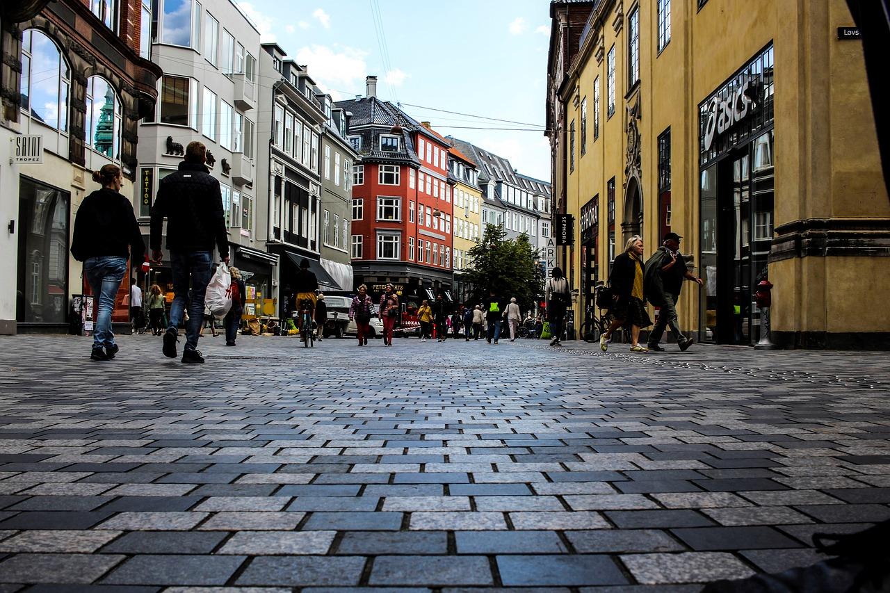 Stroget die größte Fußgängerzone Europas