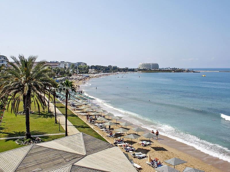 Türkische Riviera Urlaub direkt am Strand