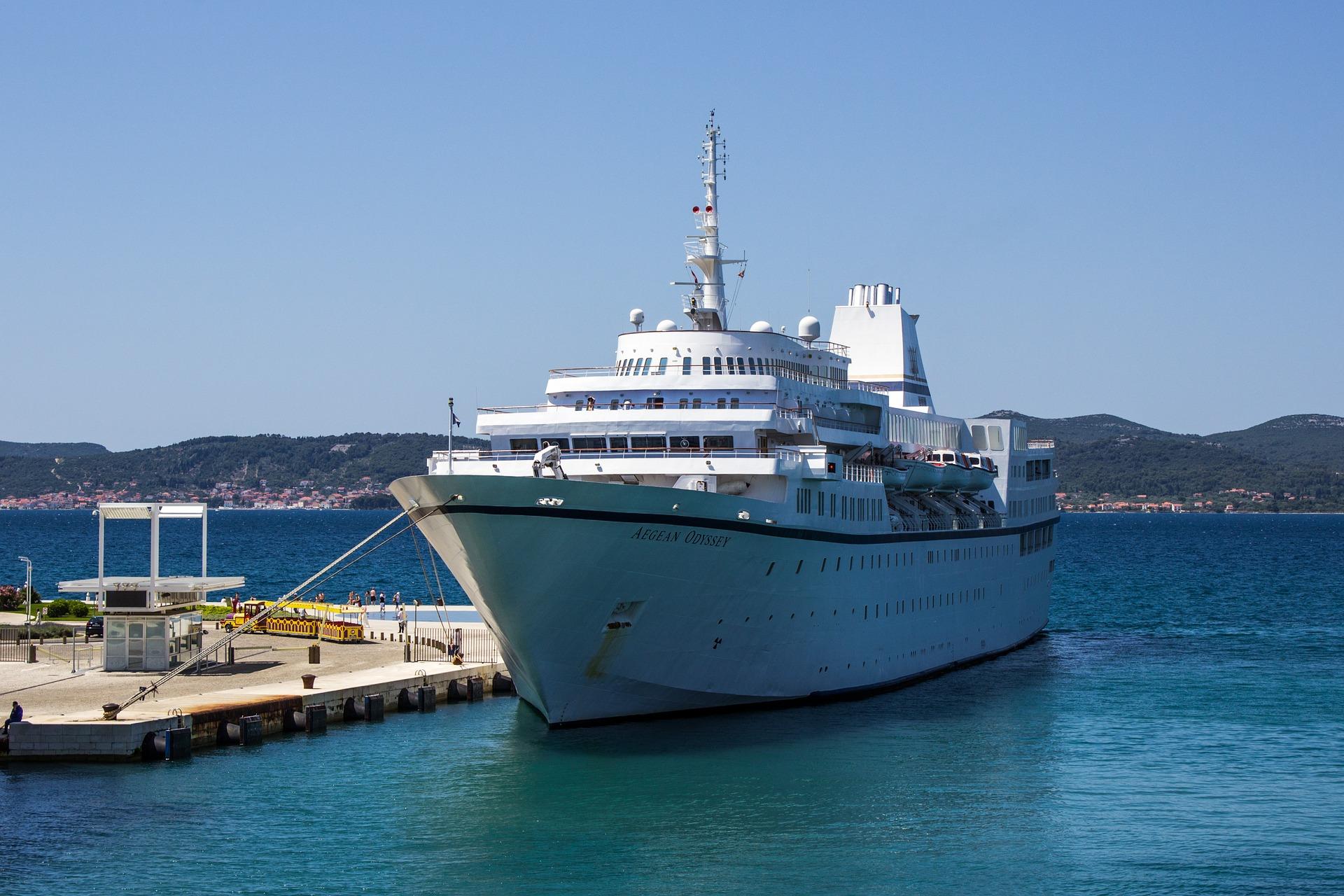 Urlaub an der Adria - Hafen