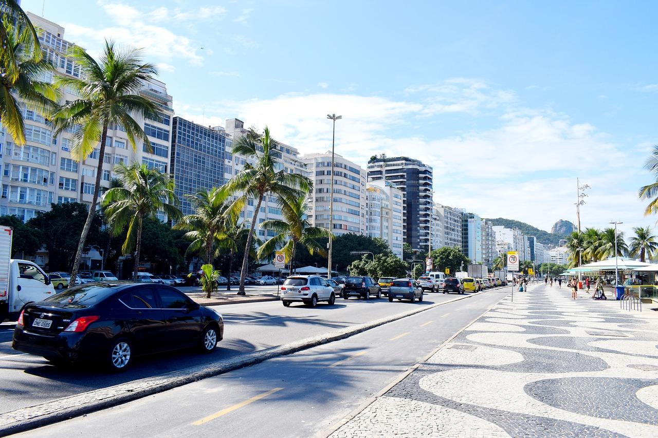 die moderne Küste von Rio