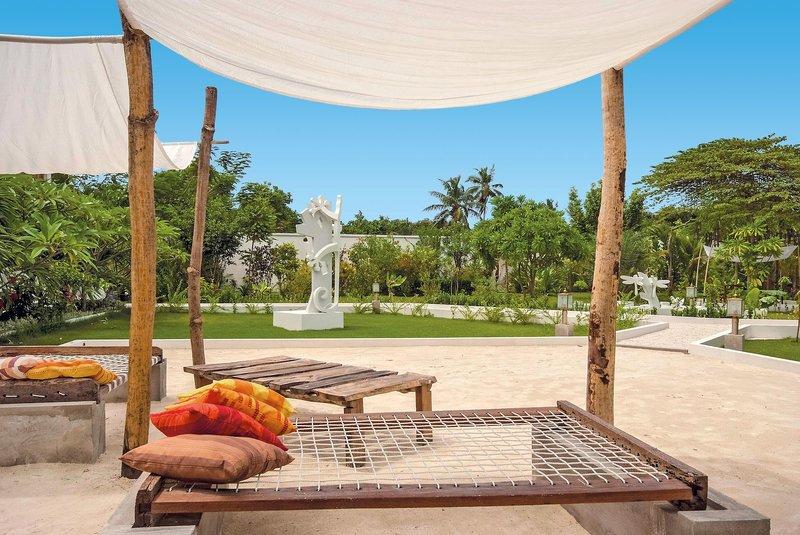 entspannen auf den Malediven mit Boden unter den Füßen