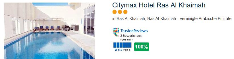 günstigstes Hotel Citymax Hotel - drei Sterne