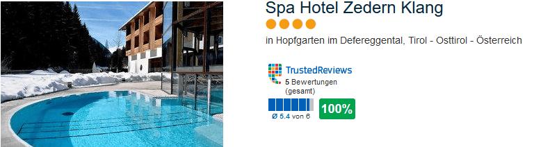4 Sterne Hotel in Hopfgarten im Defereggental bei Osttirol