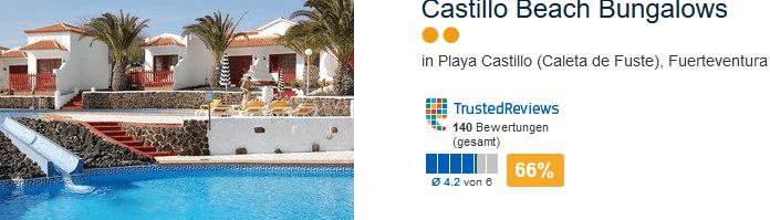 Castillo Beach Bungalows die günstigsten Unterkünfte in Verbindung einer Pasuchalreise