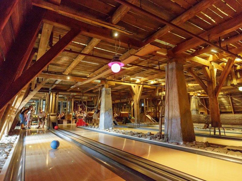 Die Bowling Bahn vom Center Park