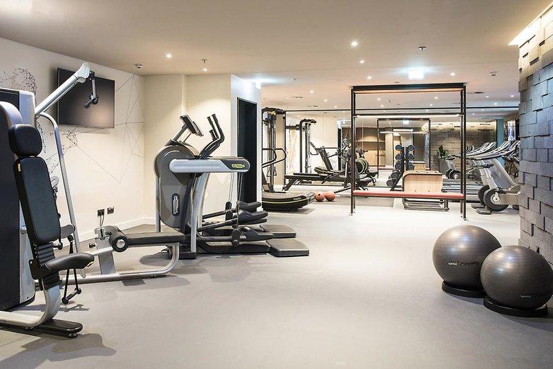 Fitnesstudio vom Hotel