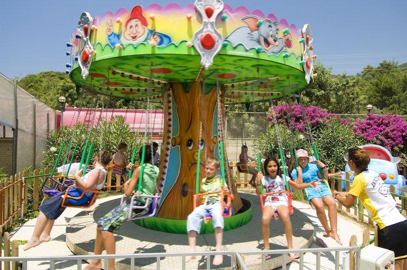 Für die Kinder gibt es genug Programm trotz billig Urlaub