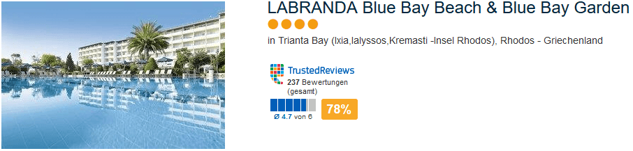 LABRANDA Blue Bay Beach & Blue Bay Resort