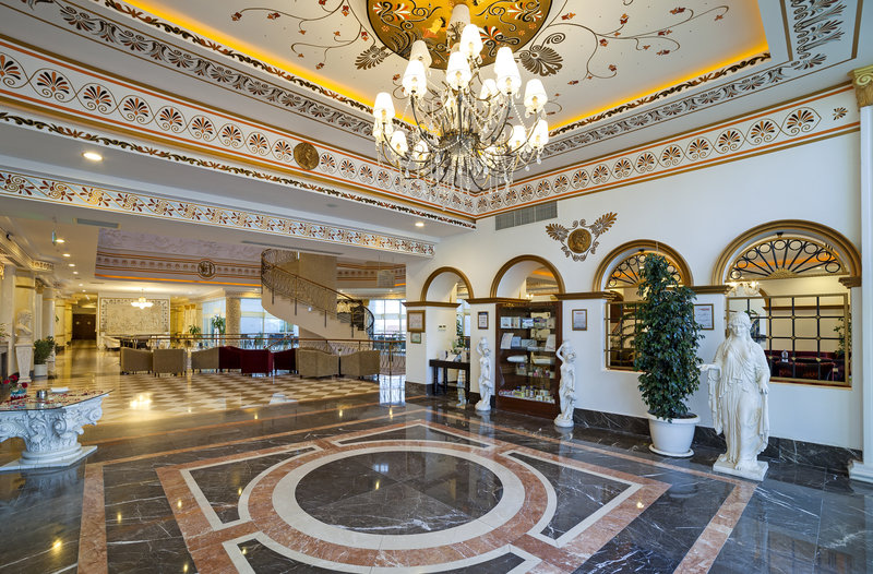 Luxoriöse Lobby