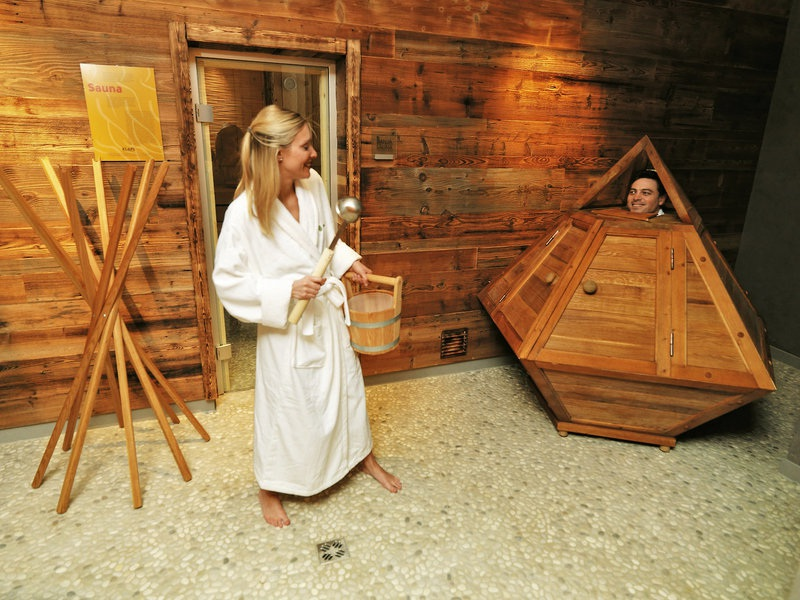 Sauna Zugang