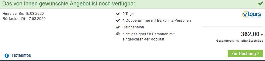 Sreenshot Deal Spa Hotel Zedern Klang - Halbpension ab 90,50€ die Nacht