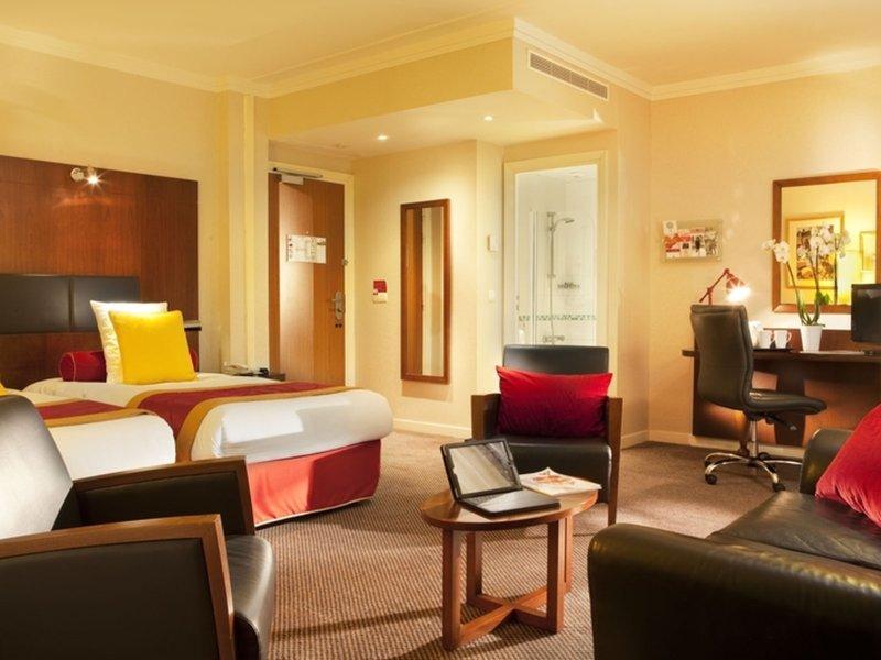 Wohnbeispiel im 4 Sterne Hotel bei Magny le Hongre auf dem Gelände des Themenparks