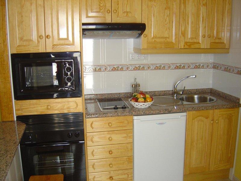 Wohnbeispiel inklusive Küche