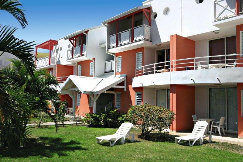 Wohneinheiten im Karibea Sainte Luce Hotel - Les Amandiers
