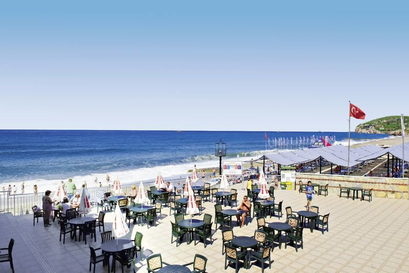 direkte Strandlage - Familienurlaub Alanya