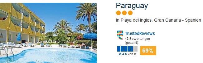Das drei Sterne Hotel Paraguay