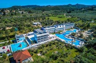 Hotellandschaft in der Gemeinde Kassandra