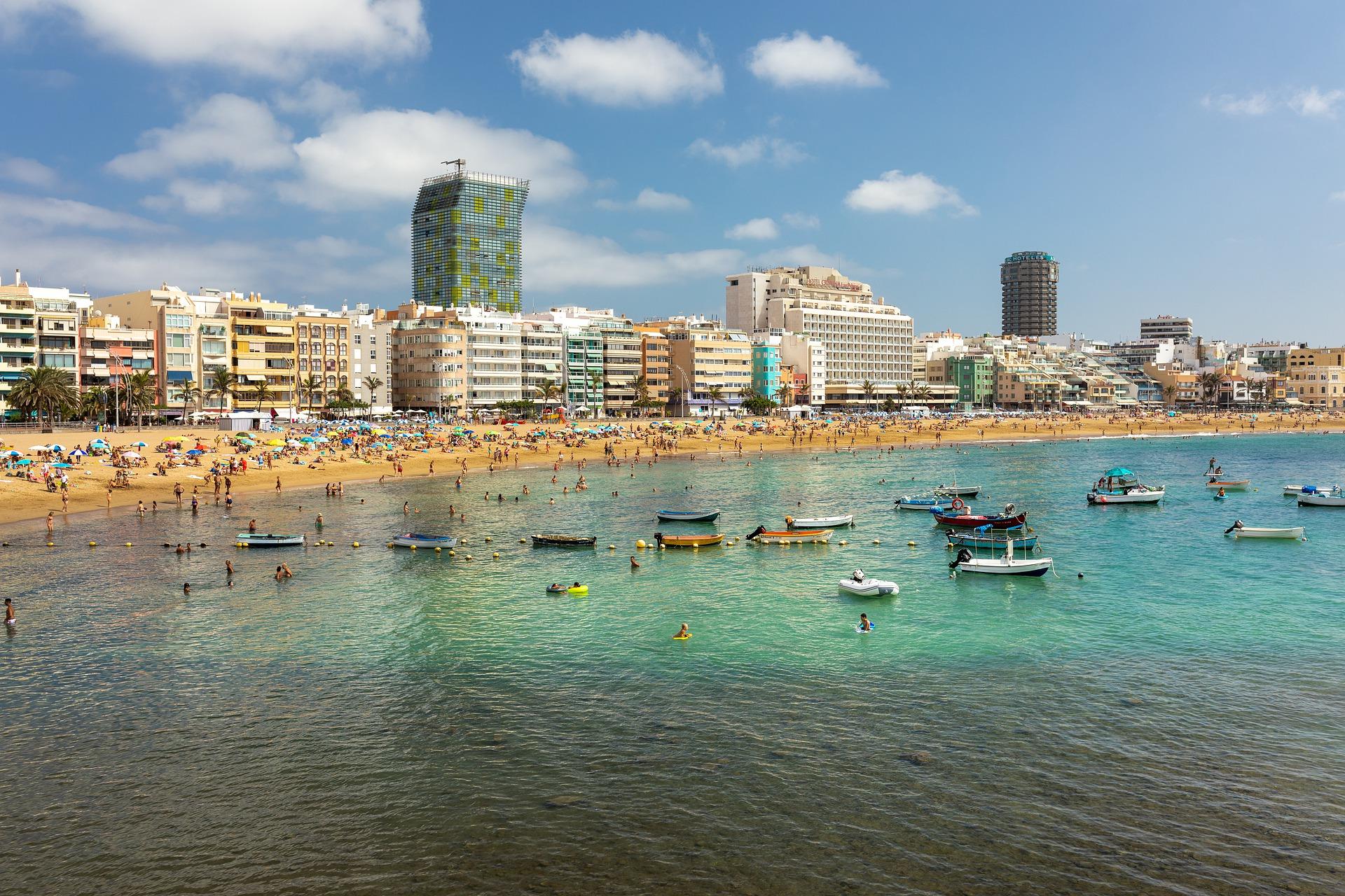 Las Palmas die Hauptstadt der Insel