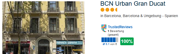 Schnäppchen Hotel in Barcelona