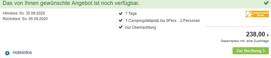 Screenshot Deal Slagharen Freizeitpark - ab 17,00€ die Nacht