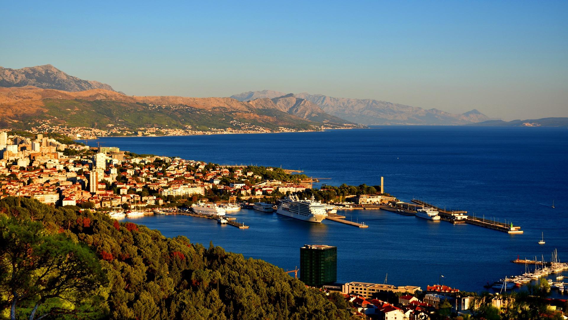 Split - atemberaubende Altstadt