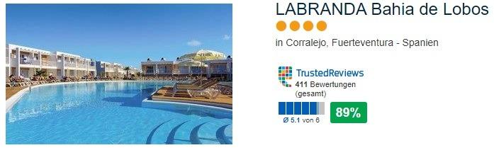 LABRANDA Bahia de Lobos in Corralejo 4 Sterne Hotel Fuerteventura