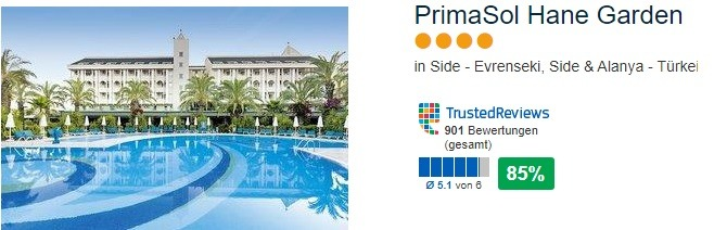 PrimaSol Hane Garden - Side Hotel Tipp