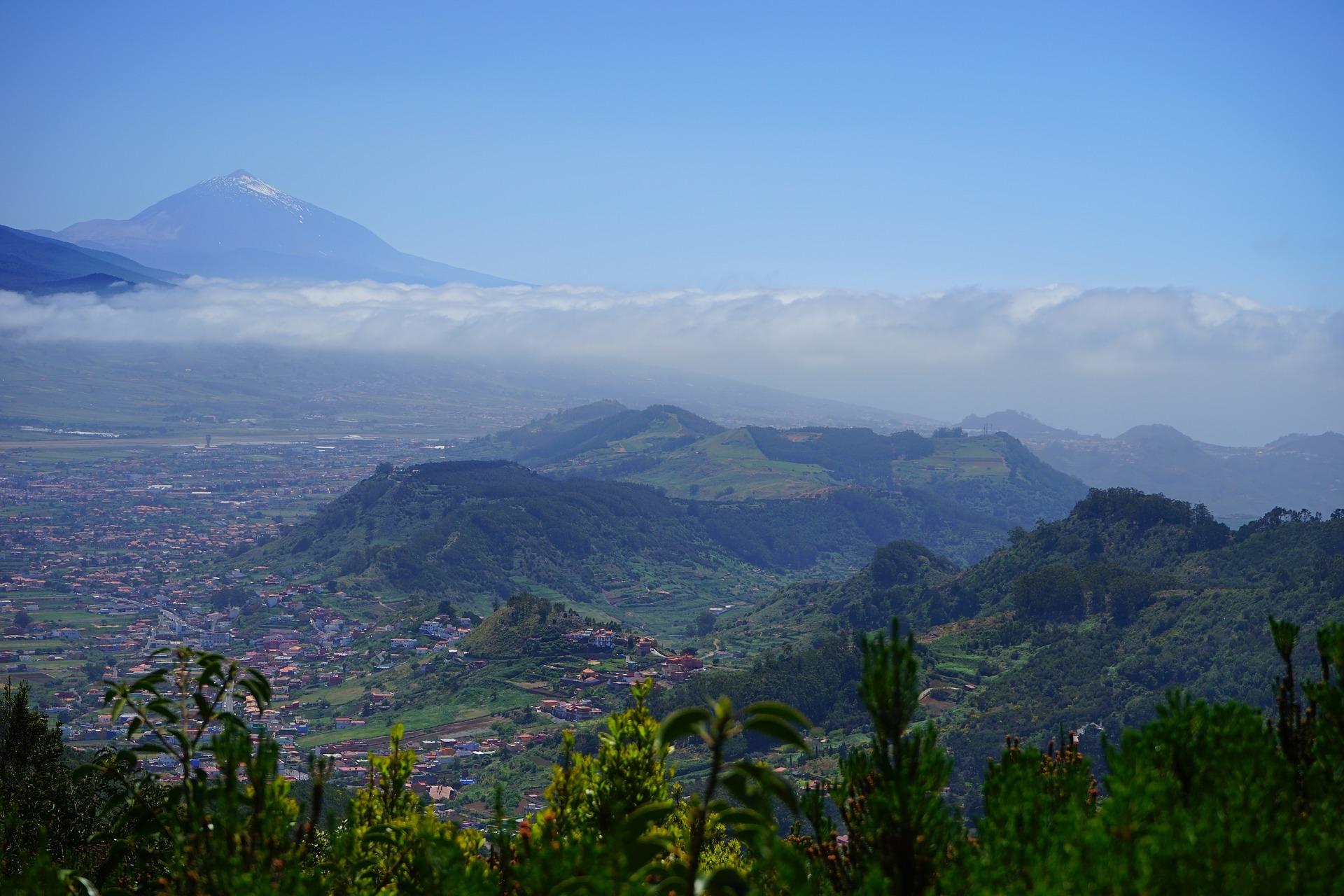 Teide der höchste Berg Europas auf der Insel Teneriffa