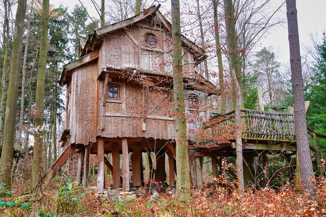 Baumhaushotels Übernachten in der Natur
