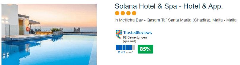 Solana Hotel & Spa - Hotel & App 4 Sterne Luxus bei Ghadira